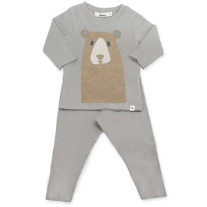 oh baby! Two Piece Set - Boo Boo Bear Tan - Elephant