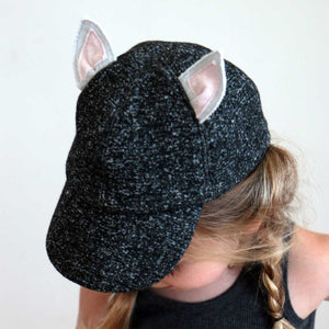 oh baby! Character Hat - Kitty - Charcoal Pepper - oh baby!