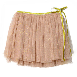 oh baby! Glinda Wrap Skirt - Champagne/Gold - oh baby!