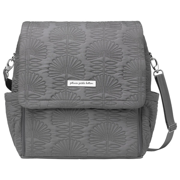 Petunia Pickle Bottom Boxy Backpack Embossed Champs-Elysees Stop - oh baby!