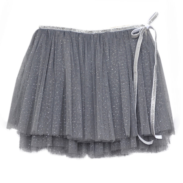oh baby! Glinda Wrap Skirt - Charcoal/Silver - oh baby!