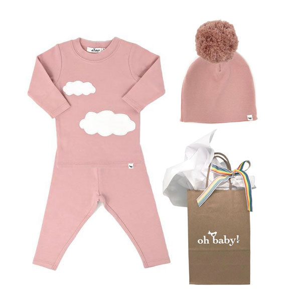 oh baby! Clouds Gift Set - Blush