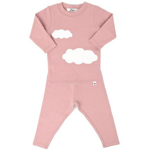 oh baby! Two Piece Set - Clouds - Blush