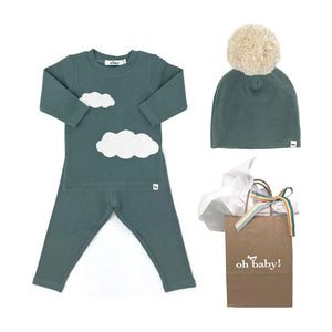 oh baby! Clouds Gift Set - Sea