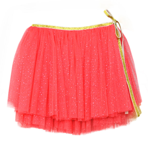 oh baby! Glinda Wrap Skirt - Coral/Coral - oh baby!