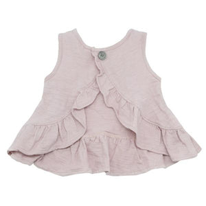 oh baby! Dolly Knit Ruffle Top - Blush - oh baby!