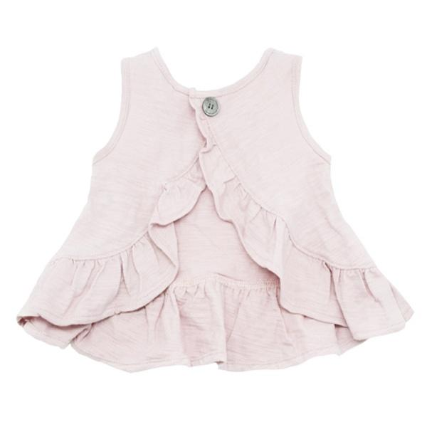 oh baby! Dolly Knit Ruffle Top - Petal Pink - oh baby!