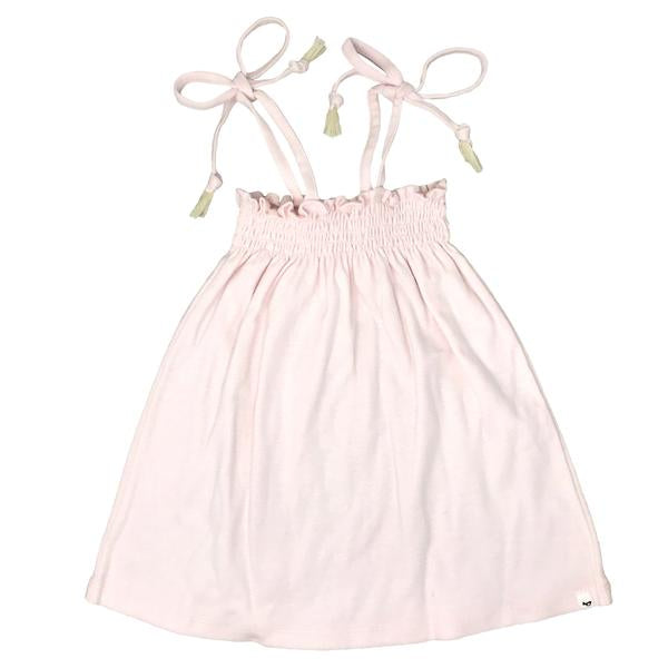 oh baby! Gidget Smocked Dress - Pale Pink