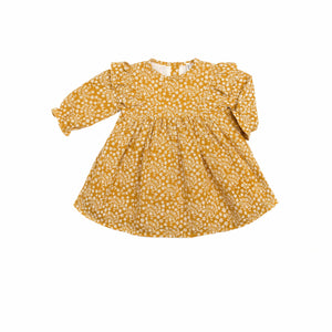 Wild Wawa Esme Dress - Mustard