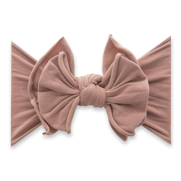 Fab-Bow-Lous-Bow Headband - Putty