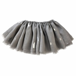 oh baby! Fairy Skirt - All Over Silver Raindrops - Gray