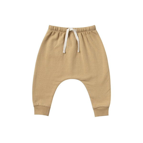 Quincy Mae Organic Fleece Sweatpant - Honey