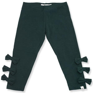 oh baby! Bow Leggings - Forest