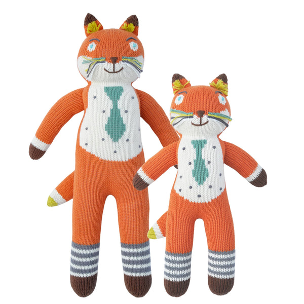 Blabla Knit Doll, Socks the Fox - Mini Size