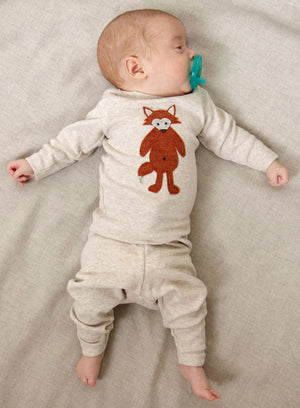 oh baby! Two Piece Set - Ragdoll Fox - Sand