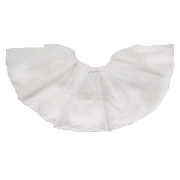 oh baby! Frill Knit Skirt with Ivory Mesh Trim - oh baby!