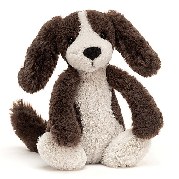 Jellycat Bashful Fudge Puppy Plush Stuffed Animal - Large