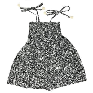 oh baby! Gidget Smocked Woven Dress - Midnight Garden