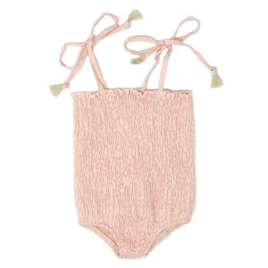 oh baby! Gidget Sunsuit One Piece - Apricot