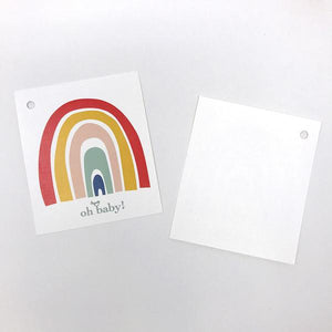 oh baby! Rainbow Gift Enclosure Card