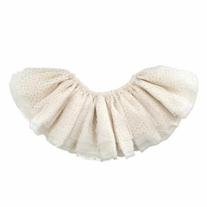 oh baby! Glinda Fairy Skirt - Ivory/Gold - Oyster Linen - oh baby!