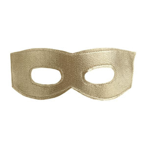 oh baby! Mask - Super Hero Mask - Gold