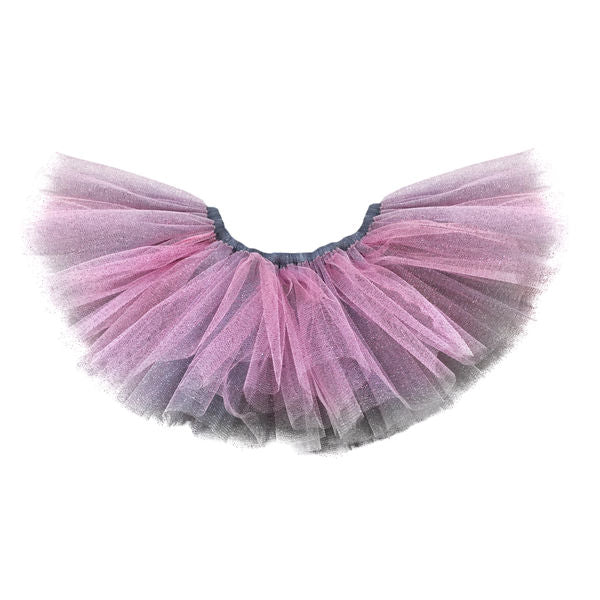 oh baby! Reversible Sparkle Tutu - Pink and Gray
