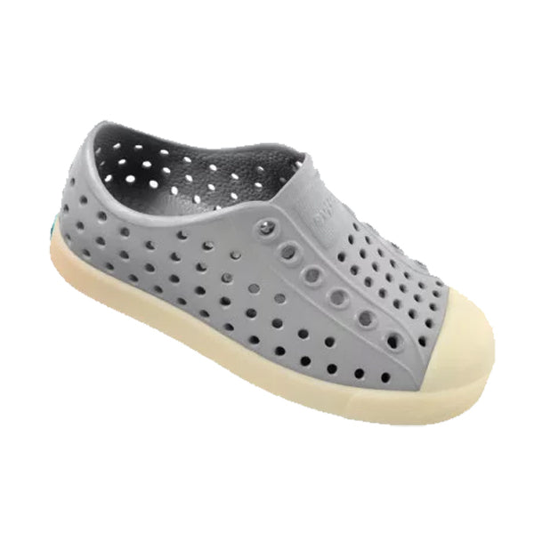 native Jefferson Glow Child Shoe - Pigeon Grey - oh baby!