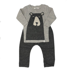 oh baby! Two Piece Set - Boo Boo Bear - Gray