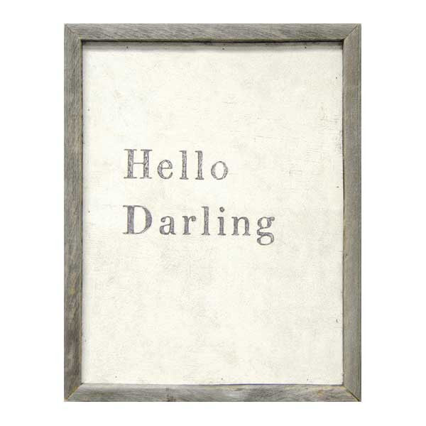 Sugarboo Hello Darling Art Print - oh baby!