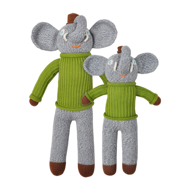 Blabla Knit Doll, Hercule the Elephant - Mini Size