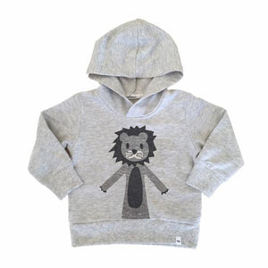 oh baby! Pullover Hoodie - Hazy Lion - Oatmeal Heather