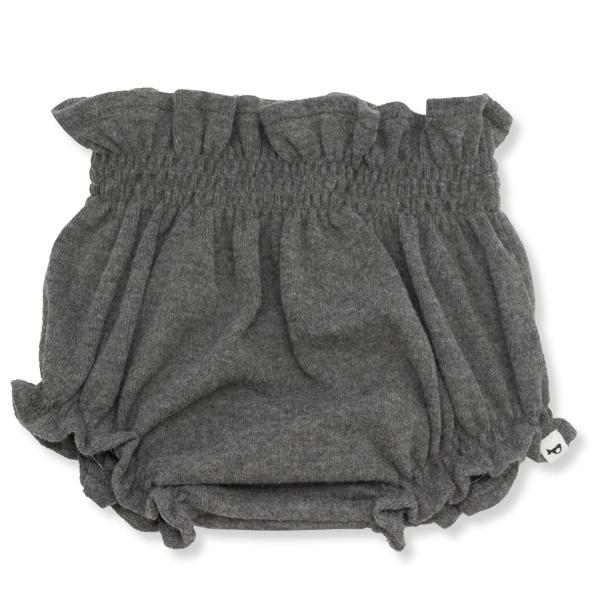 oh baby! High Waisted Tushie Baby Rib - Charcoal