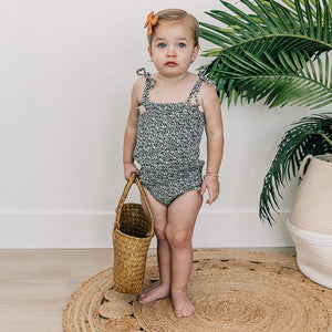 oh baby! Gidget Sunsuit One Piece - Midnight Garden