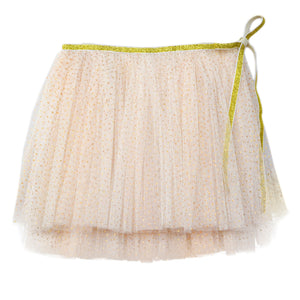 oh baby! Glinda Wrap Skirt - Ivory/Gold - oh baby!