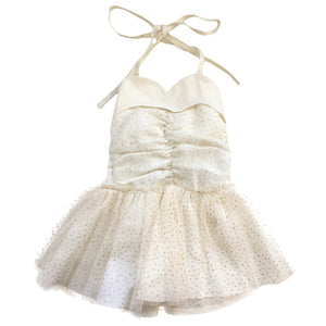 oh baby! Glinda Sweetheart Dress - Ivory Gold/Oyster - oh baby!