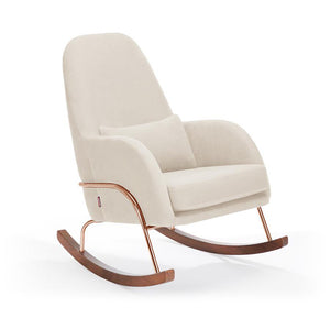 MONTE Jackson Rocking Chair - Natural/Cotton Linen Fabrics - Beach