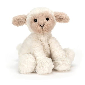 Jellycat Fuddlewuddle Lamb Plush Stuffed Animal - Medium