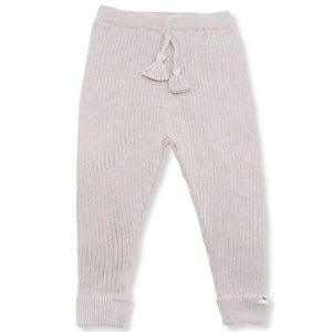 oh baby! Ribbed Knit Legging - Blush