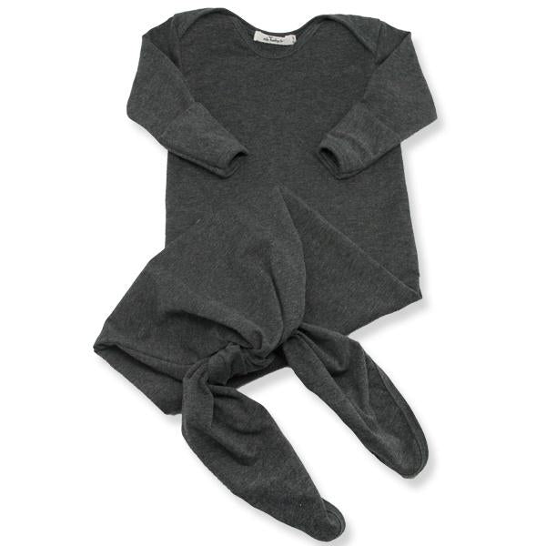 oh baby! Knotted Bamboo Sac - Charcoal Heather