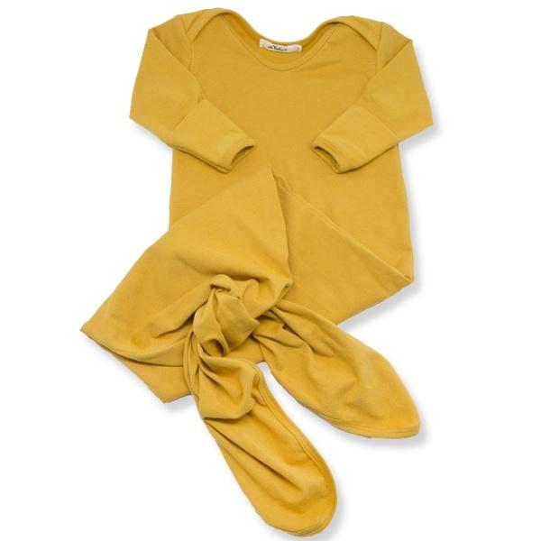 oh baby! Knotted Bamboo Sac - Mustard