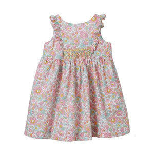 Cyrillus Paris Elvire Floral Dress