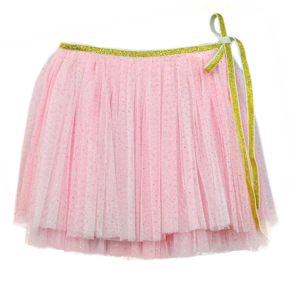 oh baby! Glinda Wrap Skirt - Light Pink/Gold - oh baby!