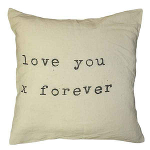 Sugarboo Designs Love You X Forever Pillow - oh baby!