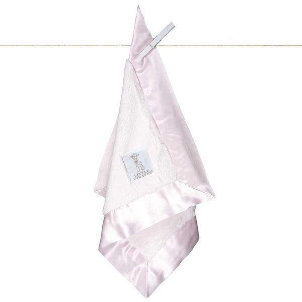 Little Giraffe Luxe Travel Blanky - Pink - oh baby!