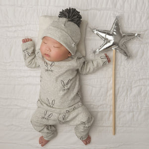 oh baby! Metallic Star Wand - Silver
