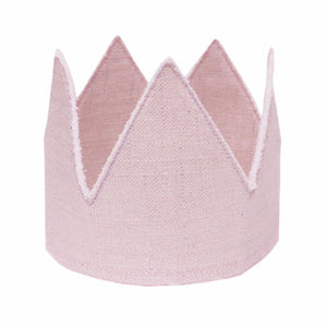 oh baby! Metallic Linen Crown - Blush - oh baby!