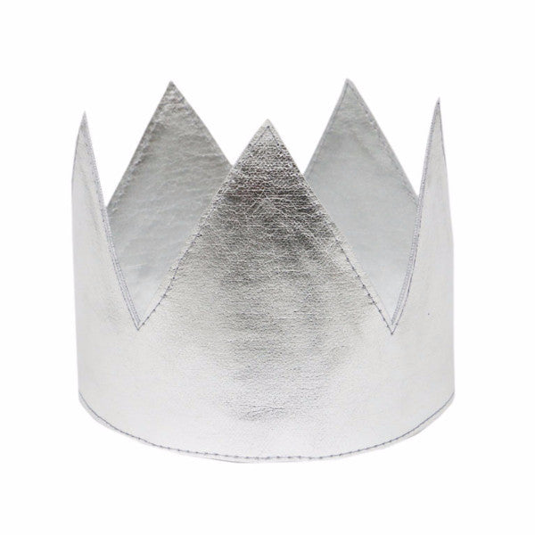 oh baby! Metallic Crown - Silver - oh baby!