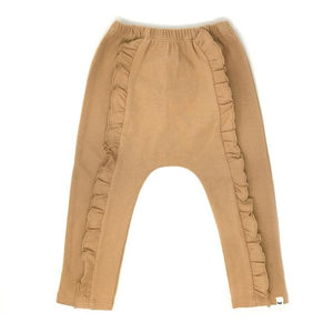 oh baby! Millie Ruffle Front Pant - Honey