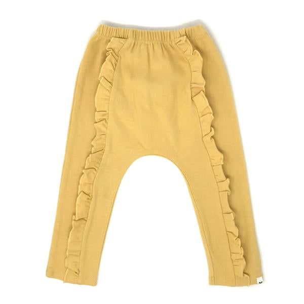 oh baby! Millie Ruffle Front Pant - Maize